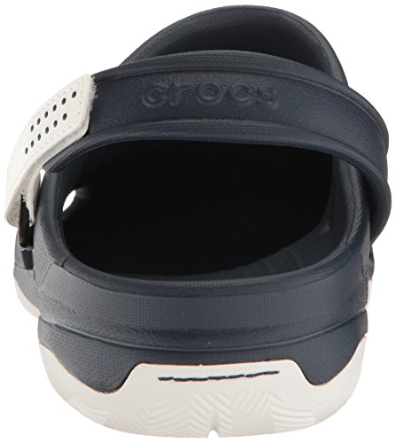 Crocs Swiftwater Deck Clog M Navy/Whi, Sabots Homme Bleu (Navy/White)