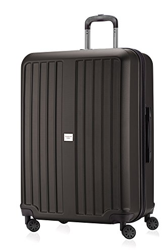 Capitale Valise série xberg Graphite Avec Combinaison TSA Mat 75 cm