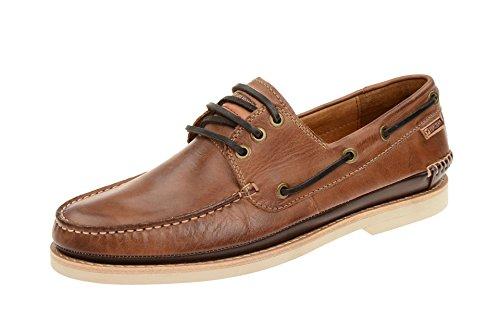 Sapatos Masculinos Pikolinos - Confortáveis sapatos Baixos Torremolinos Marrom