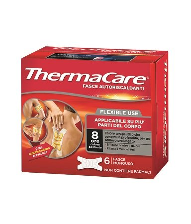ThermaCare Flexible 6 Bands Selbsterhitzung
