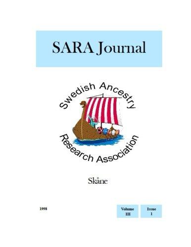 SARA Journal Skåne: Volume 3