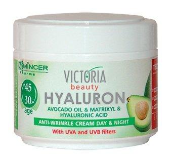 Creme Visage Femme - Victoria Beauty Hyaluron Crème anti-ride jour et