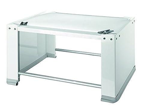 Wpro PED001 Waschmaschinenzubehör/ Universal Unterbausockel für Waschmaschinen und Trockner / / Untergestell