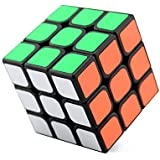 Wings of Wind - Cubo mágico ultra-liso del cubo del cubo de la magia del cubo mágico cubo de GuanLong 3x3x3 (Negro)