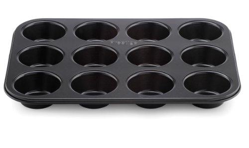 Prestige Inspire 12Cup Muffin Dose, Stahl, schwarz -