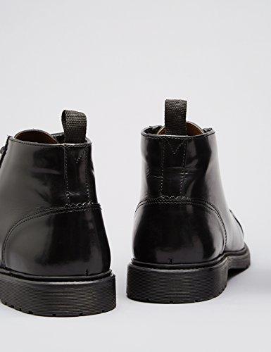 FIND Boots à Lacets Homme Noir (Black)