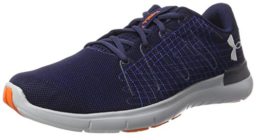 Under Armour Herren Laufschuhe Laufschuhe UA Thrill 3, Blau (Midnight Navy), 44 (UK 9) (Sandalen Von Under Armour)