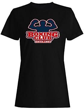 Boxeo Box Hombre Vs Club camiseta de las mujeres m696f