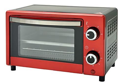 Multiofen 9L Mini-Ofen 60min Timer 230°C Backblech Grillrost 900W NEU*43529