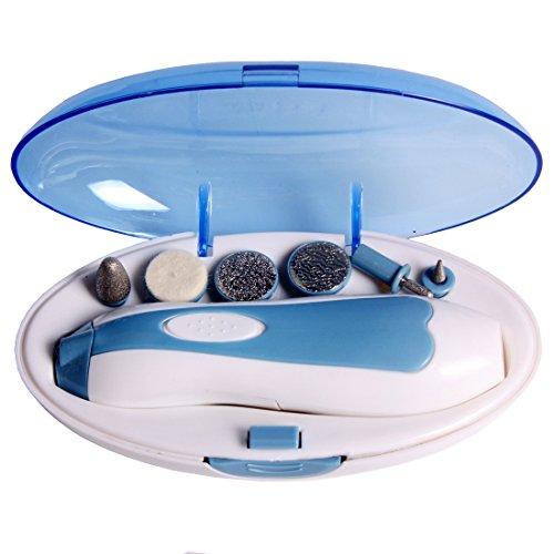 Andux Nagelpflegesystem Maniküre-Set für Unterwegs/MJGJ-01 (Nagel Trimmer Elektro)