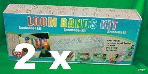 Loom Starter BOX Bands Starter Set Starter Kit Loom Armbänder Set Loom