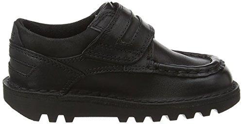 Kickers Kick Cyba Strap - Mocassins - Garçon Noir (Black)