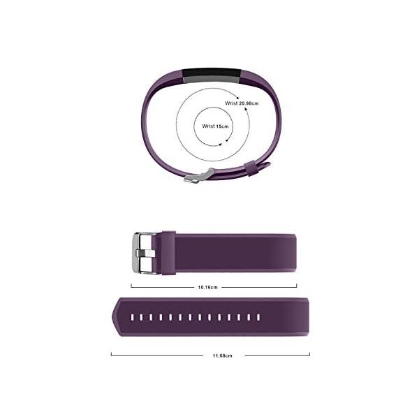 Vigorun Fitness Tracker Correas Pulseras de Repuesto YG3 Plus HR Activity Tracker 5