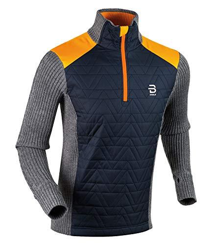 Björn Daehlie Herren Langlauf-Pullover Half Zip Comfy Langarm Sun (111) XL
