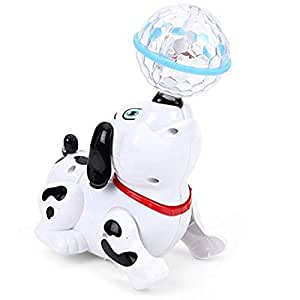 Funnytool Sound Toy for Kids (Dancing Dog with Music and Lights)