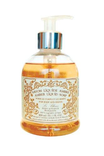 Amber-duft-Öl (Le Blanc Flüssigseife auf Kokusnuss-Öl-Basis, Duft Amber (1 x 300 ml))