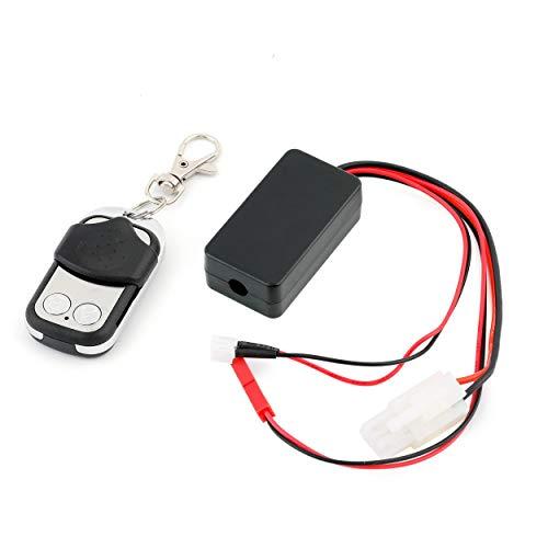 Lorenlli Contrôleur de Chenille Automatique de contrôle de treuil de Chenille Automatique pour 1/10 Voiture RC Tout-Terrain axiale SCX10 Fit Tamiya CC01