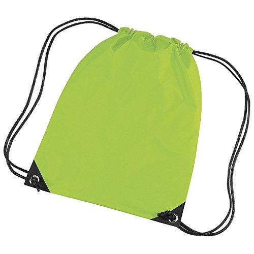 BagBase BG10BagBase Premium Gymsac Lime