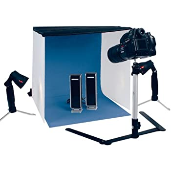 Konig Portable Photo Studio Kit including Tent + Lights + Tripod + Coloured Backgrounds  sc 1 st  Amazon UK : home studio lighting kit - azcodes.com