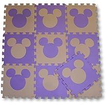 9535894a497 Meitoku Alfombra de Goma EVA para niños con puzle. 10 alfombras de 30 x 30