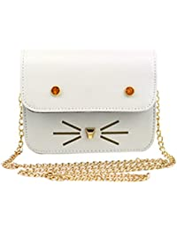Blingg Cute Cat Face And Whiskers Sling Bag Gift For Women's & Girl's/Fashionable Sling Bag For Women/Women Stylish...