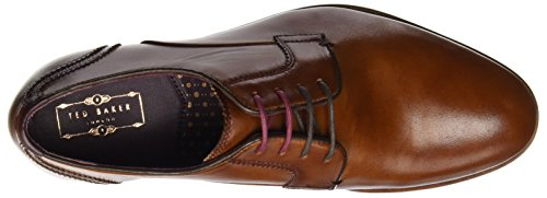 Ted Baker Mens Iront Derby Stringate Marrone (tan)