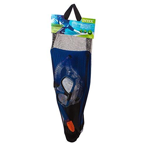 Intex Schnorchelset Reef Rider Sport, Blau, 3-teilig -