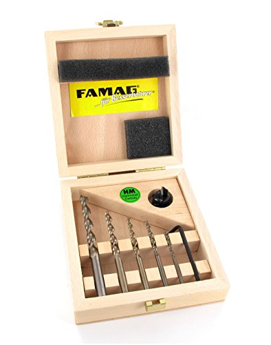 FAMAG Bohrer-Vario90-Senker-Satz Nr.1594+2202 im Holzkast. 357550500