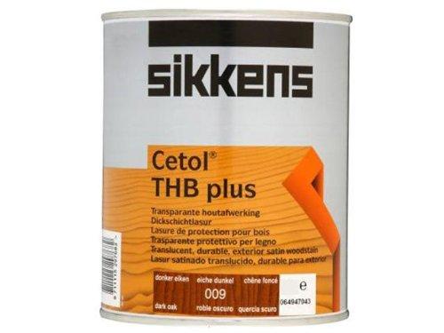 Eiche Dunkel Holz-basis (Sikkens Cetol THB plus Paint 5l Liter Eiche dunkel Schneller Versand)