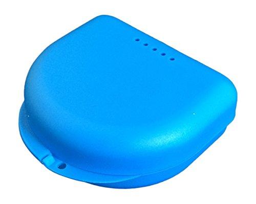 kleine Zahnspangendose, Retainer- Dentalbox, KFO-Box, small (Blau)