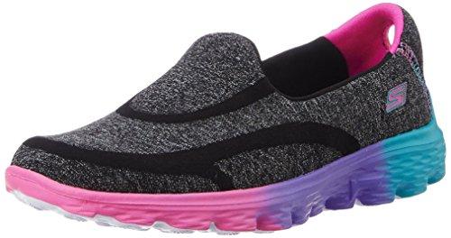 Skechers  Go Walk 2 Sweet Socks,   Mädchen  Laufschuhe Black (Black Multi)
