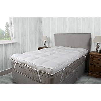 thick mattress topper. Hotel Quality 10cm (4\ Thick Mattress Topper D