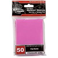 Monster Protectors Monster Sleeves Flat Matte Pink (50 ct.) preisvergleich bei billige-tabletten.eu