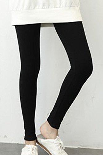 Les Chevilles Du Crayon Pantalon Legging Plaine Black