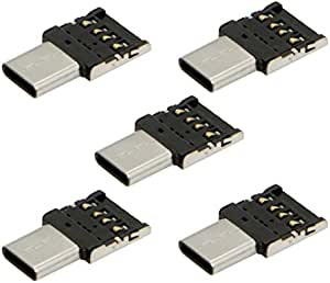 Chenyang 5 Stück Ultra Mini Typ C Usb C Auf Usb 2 0 Otg Elektronik