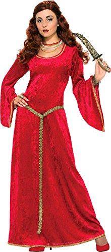 Kostüm Party Tv-charakter Mittelalterlich Rubin Zauberin Kostüm (Mittelalterliche Zauberin Kostüm)