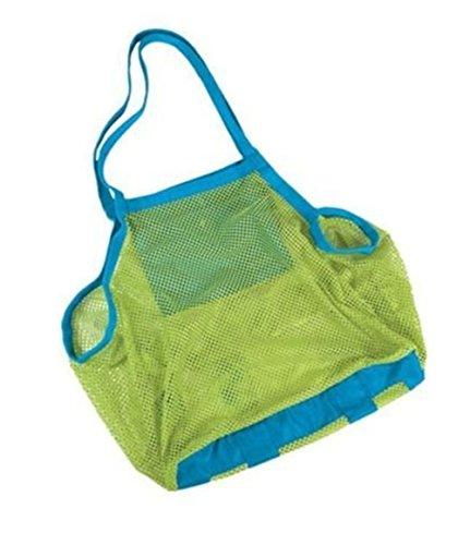 Hou zhi liang mesh tote borsa da spiaggia, zaino giocattoli asciugamani da nuoto e piscina palline toys storage bags packs perfetto per giocattoli bambini in azienda 45,7x 30,5x 45,7cm