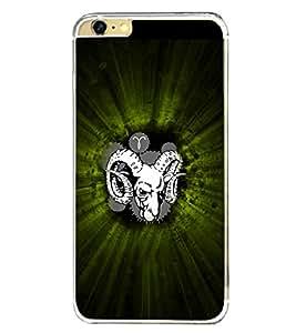 Aries Sign 2D Hard Polycarbonate Designer Back Case Cover for Apple iPhone 6