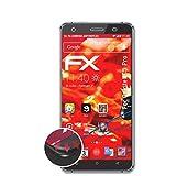 atFolix Schutzfolie passend für Oukitel C5 Pro Folie, entspiegelnde & Flexible FX Bildschirmschutzfolie (3X)
