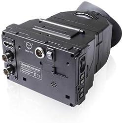 Cineroid EVF4RVW Viseur électronique en métal avec Ecran rétina pour Appareil Photo Noir