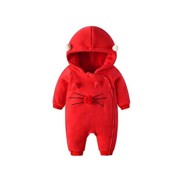 Traje de Moda Infantil Vogue Bebé recién Nacido bebé niña niño Floral Volante Mameluco Mono Trajes de Mono Conveniente… 1