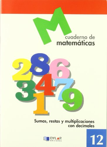 Cuaderno de matemáticas, n. 12