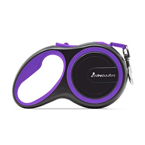 allpetsolutions DOG-L-R-8M-Purple Roll-Hundeleine, L, lila