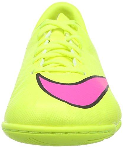 Nike Jr. Mercurial Victory V Ic, Chaussures de Football Mixte Enfant Jaune (volt/hyper Pink-black 760)