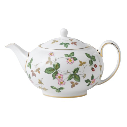 Wedgwood - Wild Strawberry, Teapot 0.80ltr