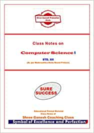 Class Notes on Computer Science Paper I STD XII: Amazon in