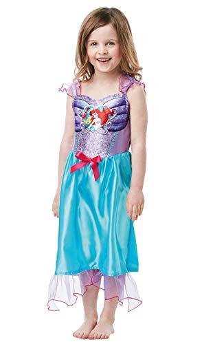 Rubie's Offizielles Disney-Prinzessinnenkostüm Arielle, Meerjungfrau, klassisches Kostüm, für Kinder von 2-3 Jahren, Höhe 98 cm