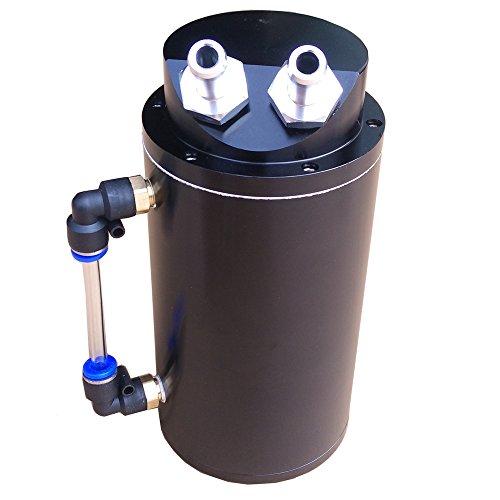 Semoic Serbatoio di Latta per Olio in Alluminio Universale deflettore Blu