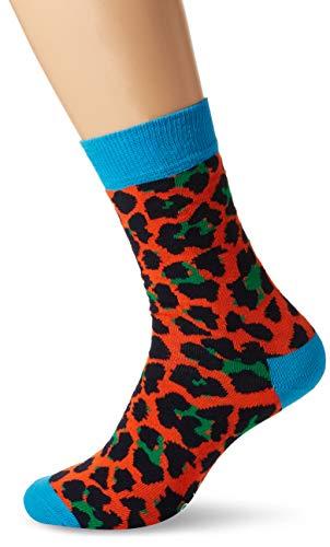 Happy Socks Herren Leopard Socken, mehrfarbig, 41/44 DE (Herstellergröße: 41/46) (Tag Der Erde Kostüm Für Erwachsene)