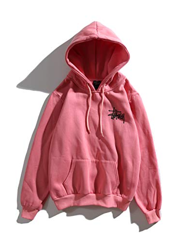 Fashion Hoodie Womens Classic Plus Velvet Hoodie Purple Peach Hoodie Men  Women Couple Boys Girls dd1d0f38f1f3